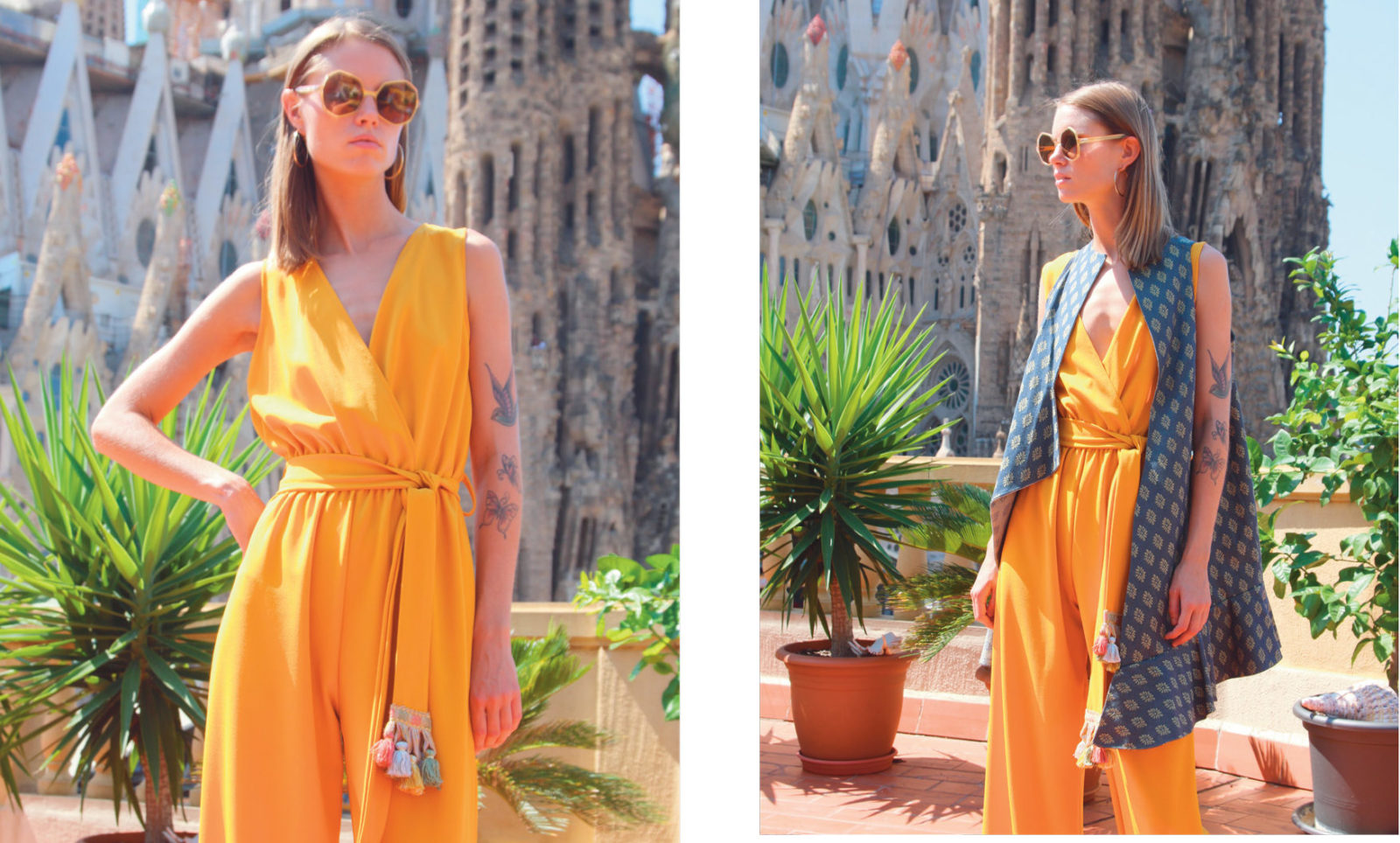 Cruise Collection Yellow Jumpsuit