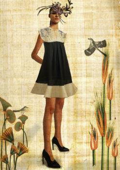 YELLOW VELVET MINI DRESS - LOOK 3 - KOHANA c052c7100