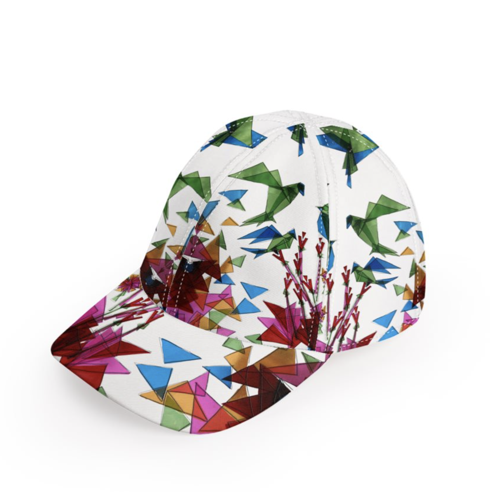 e80c92594cc Cotton Printed Baseball Cap - BEACH GETAWAY